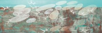 Himmelstänzerinnen | 2014 | 50x100 cm