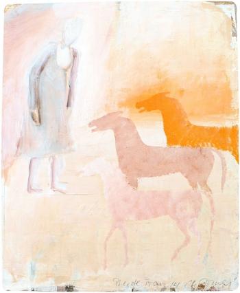 Pferde Frau | 2015 | 22x28 cm
