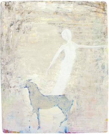 Blaues Pferd | 2015 | 22x28 cm
