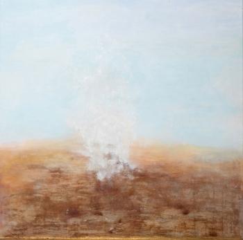 Kleiner Sandsturm | 2015 | 100x100 cm