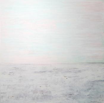Landschaft, Winter | 2016 | 100x100 cm