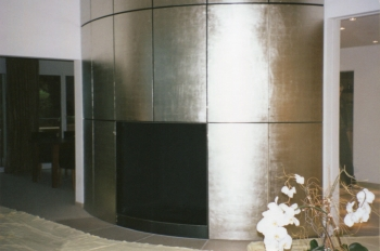 Cheminée Platin vergoldet in Zusammenarbeit mit Marcel Roth | 2000