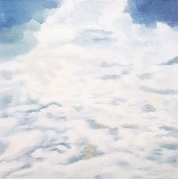 Wolke 2 | 2018 | 80x80 cm