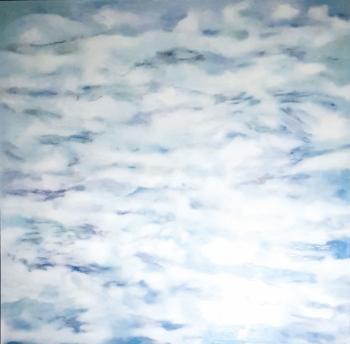 Wolke | 2018 | 150x150 cm